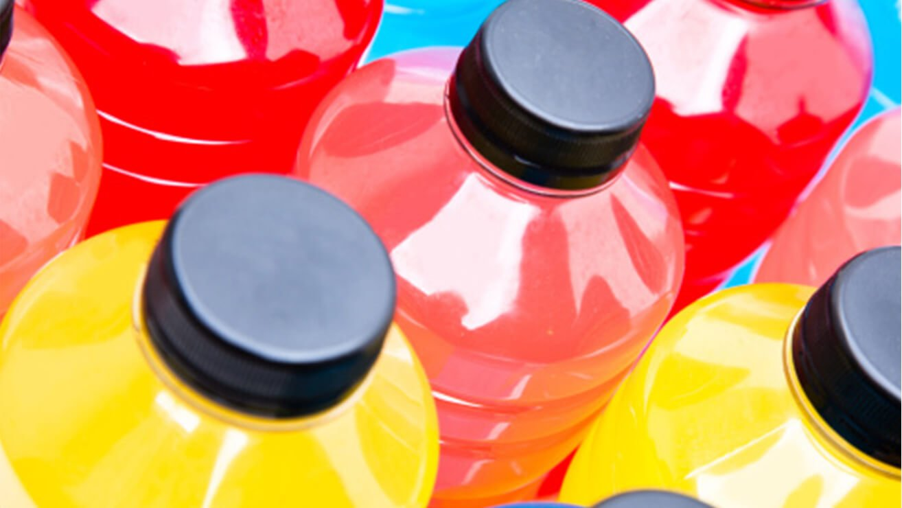 sports drinks erodes gums