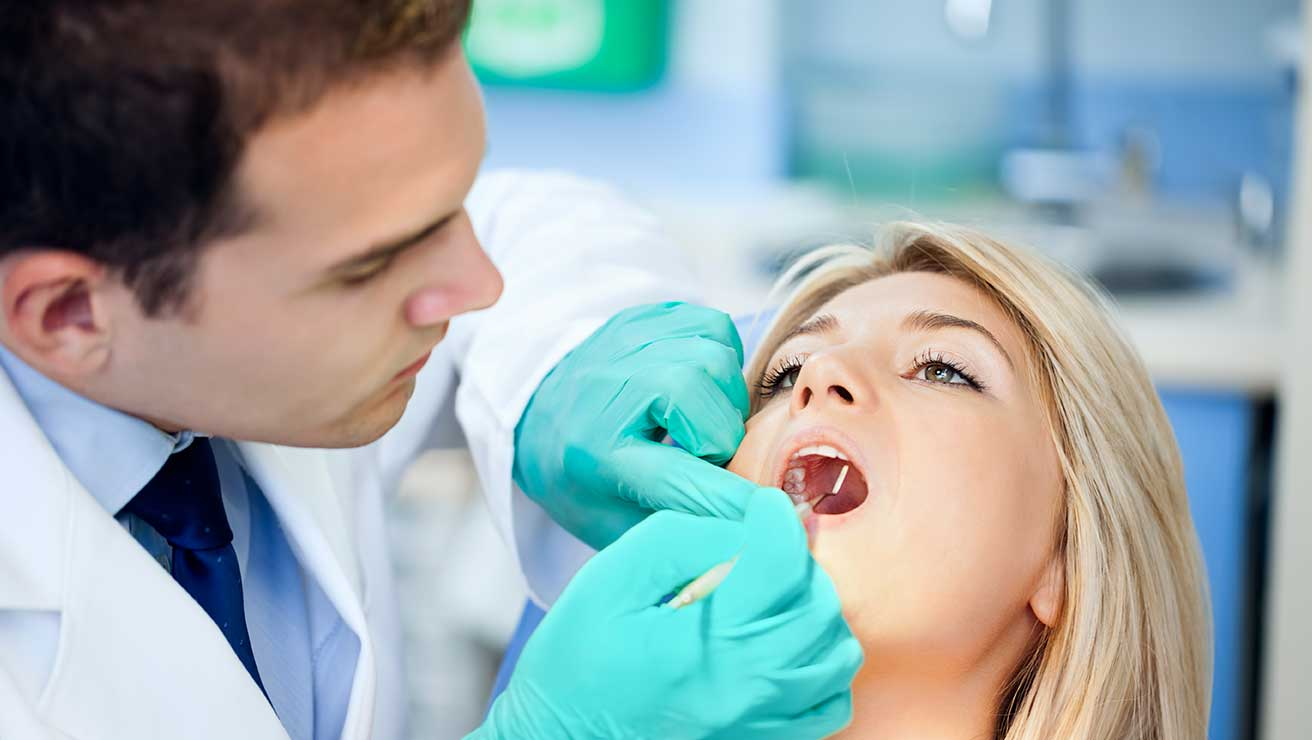 Visit dentist to prevent tooth decay problems