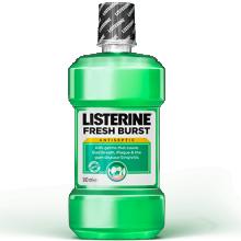 Listerine fresh burst, the gingivitis mouthwash