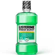 Listerine fresh burst, the gingivitis mouthwash
