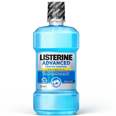 LISTERINE® ULTRACLEAN™ COOL MINT® Antiseptic Mouthwash